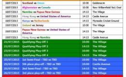 ICC announces 2016 World T20 schedule