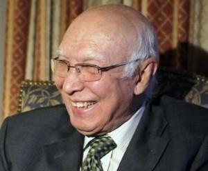 U.S drone 'hit' peace efforts: Sartaj Aziz