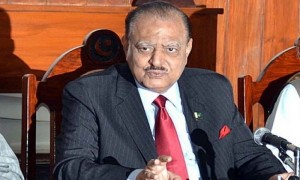 Pakistan to  effectively use  SCO platform for counter-terrorism:  Mamnoon Hussain
