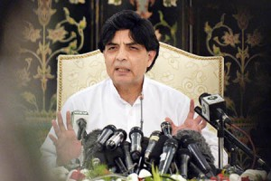 Nisar urges UN to take notice of Indian PM's statements against Pakistan