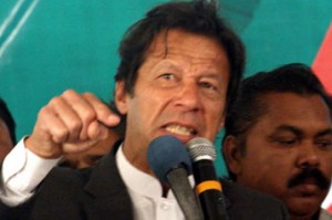 PTI will remain in Islamabad until PM resigns: Imran Khan