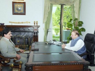 Nawaz, Janjua discuss national security situation