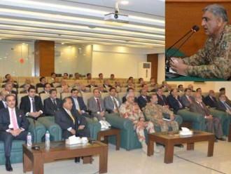 Karachi operation to  continue: Gen Qamar Bajwa