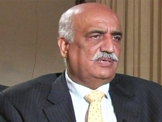 Imran must reveal name of person who offered him Rs10bln: Khursheed Shah