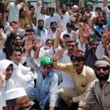 PTI holds countrywide protests against 'harassment' of party workers by FIA