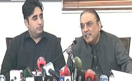 Never took any benefit from Nawaz Sharif, too late for negotiations: Zardari