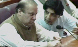 Upset with PML-N advisers, Nisar plays devil's advocate