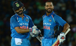 Dhawan, Kohli help India beat Sri Lanka by nine wickets