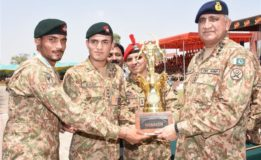 Basic traits of soldiering are linked with physical fitness: Gen Qamar Javed Bajwa