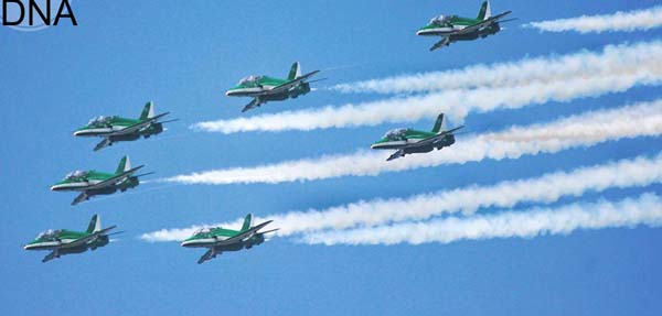 Air show marks Independence Day celebrations in Islamabad