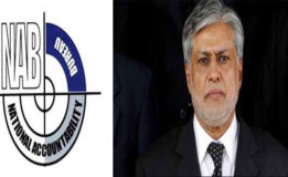 NAB asks SBP for Ishaq Dar,  family's bank account details