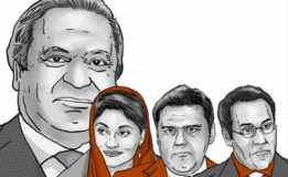 Sharif family fails to appear in accountability court, summons reissued for September  26
