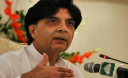 Confrontation with judiciary not in Nawaz's interest: Chaudhry Nisar