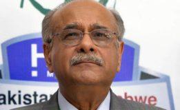 Najam Sethi to meet CM Sindh  today for bringing PSL to Karachi