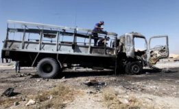Seven martyred, 22 injured as police truck targeted in Quetta