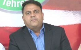 'Case be lodged against Abbasi, Ahsan and  Nawaz: Fawad Chaudhry