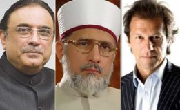 Opposition parties back Tahirul Qadri to give tough time  to PML-N
