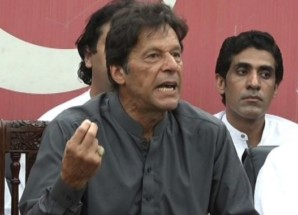 Sharifs issuing threats to NAB, judiciary after having corruption exposed: Imran Khan