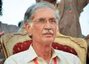 Pervez Khattak directs for early completion of Nowshera beautification